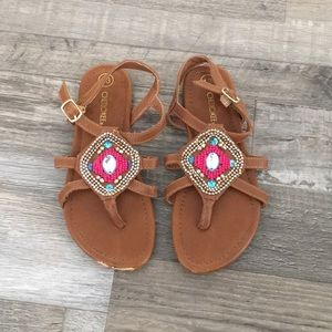 Cherokee Brown sandals